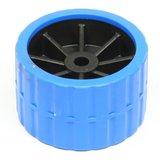 Zijrol blauw voor boot 120x75 met as 15 mm_16