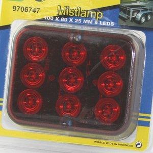 Mistlamp 9 LEDS