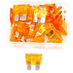 Steekzekering 40 Ampere oranje doos 25 stuks