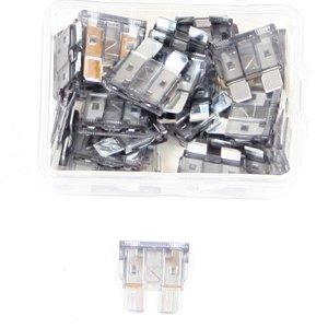 Steekzekering 2 Ampere grijs doos 25 stuks