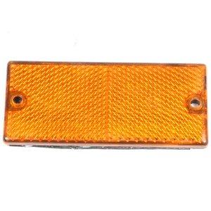 Reflector oranje 62x45 plak