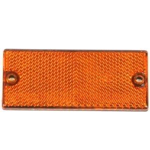 Reflector oranje 90x40 schroef
