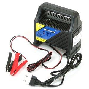 Acculader 12 Volt 6 Amp.