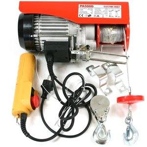 Takel electrisch 900 Watt, 250/500 kg.
