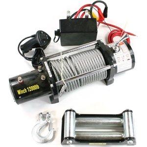 Lier electrisch 5454 kg (12000 lbs) 12 volt