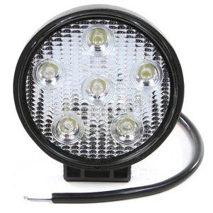 Werklamp 6 LEDS, 18 watt 10-30 volt