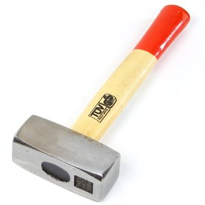 Moker/Vuist 1,5 kilo, houten steel