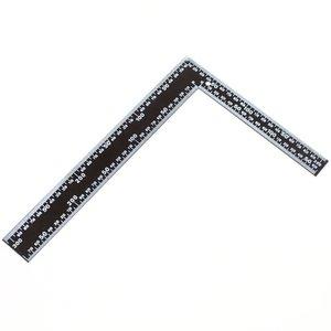 Winkelhaak 200x300 mm zwart