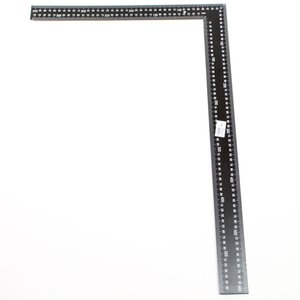 Winkelhaak 400x600 mm zwart