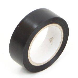 Tape, isolatietape zwart 19 mm per rol