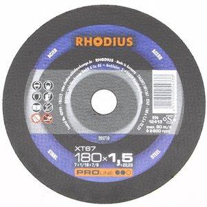 Doorslijpschijf 180x1,5metaal Rhodius