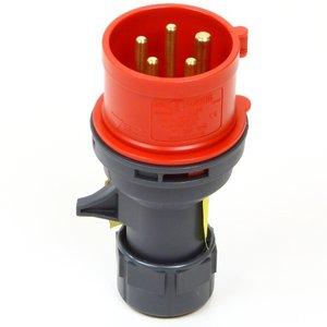 Stekker 32 Ampere, 5 polig, CEE