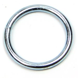 Ronde ring 4x30 verzinkt