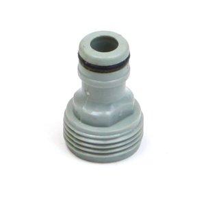 """Kraankoppeling PVC 3/4"""" buitendraad"""