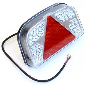 Achterlicht 56 LED rechts driehoek