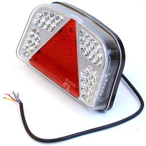 Achterlicht 56 LED links driehoek