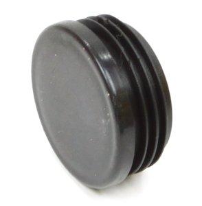 Insteekdop rond 50 mm platte kop