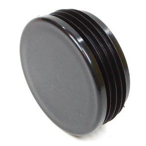 Insteekdop rond 70 mm platte kop