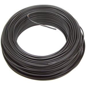 VD draad 1,5 mm² zwart, rol 100 meter