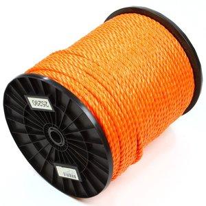 Touw 8 mm oranje, per meter bestellen