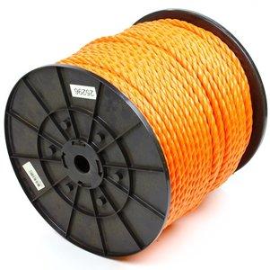 Touw 12 mm oranje, per meter bestellen