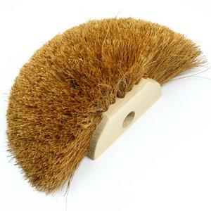 Raagbol 12,5 cm hout/kokos
