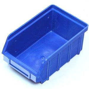 Magazijnbak 175x105x75 plastic blauw