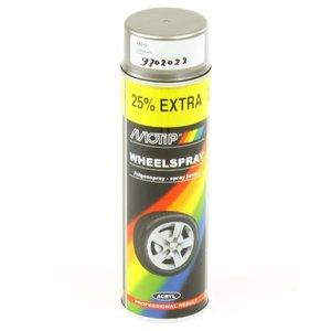 Spuitbus Motip velgenlak Steelwheel 500 ml