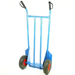 Steekwagen blauw standaard