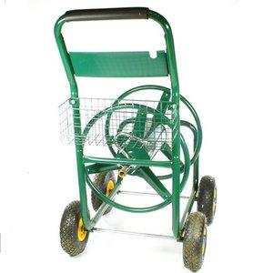 Slangen/haspelwagen met 4 wielen