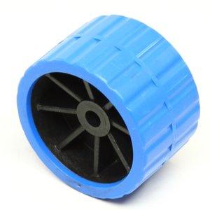 Zijrol blauw voor boot 120x75 met as 15 mm