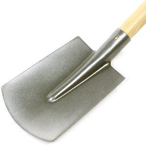Spade met steel 1 meter