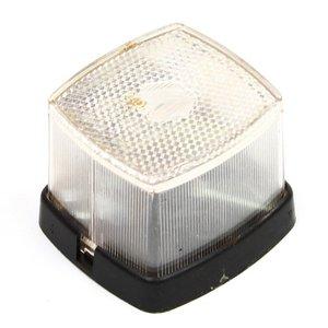 Positielamp wit met reflector 63x66 mm