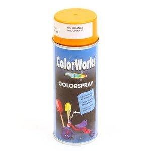 Spuitbus Colorworks oranje RAL 2003 400 ml