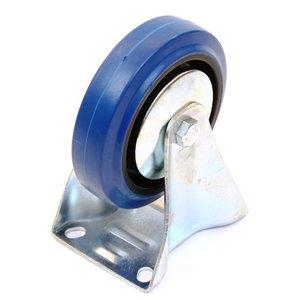 Bokwiel 125 mm. blauw