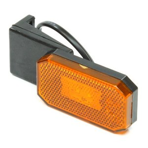 Breedtelamp oranje L/R 12-24 volt LED